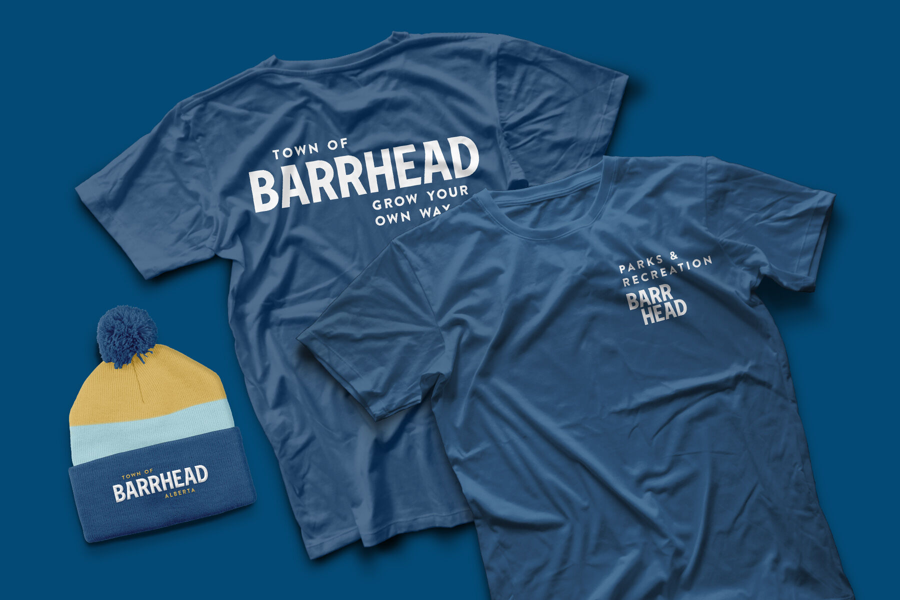 T-shirt and toque for Barrhead Staff