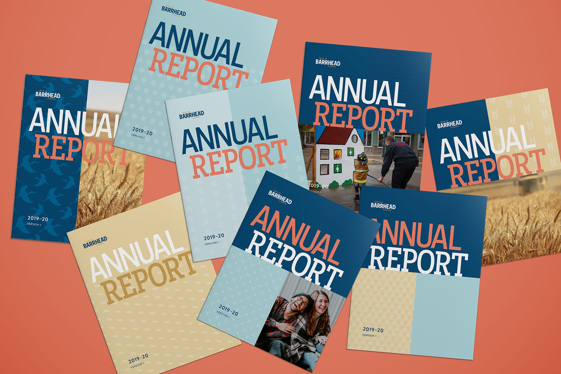 Annual Report designed by Vancouver's Ion Brand Design